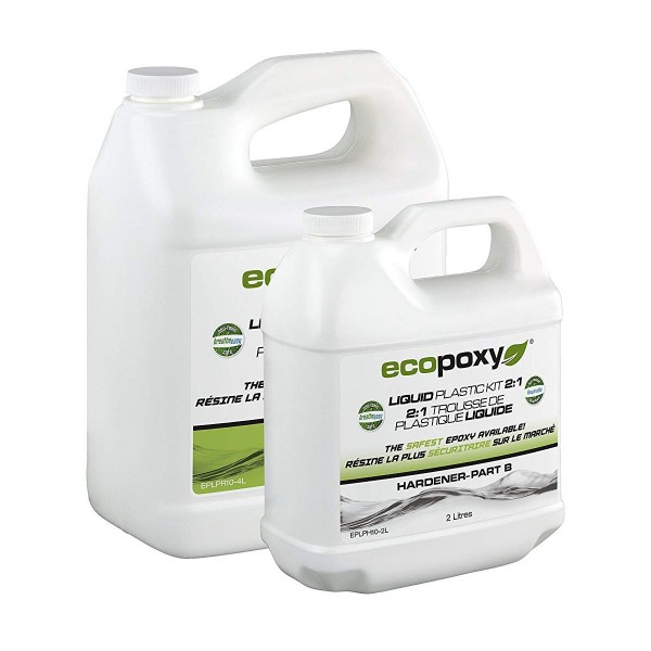 Ecopoxy Liquid Plastic 2:1 Ratio