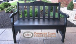 Poly Bench With Engraving