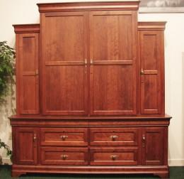 Custom Cherry Gun Cabinet